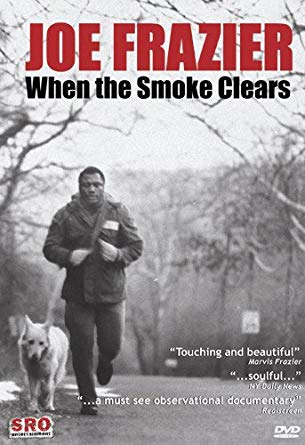 DVD cover of joe frazier 'when the smoke clears'