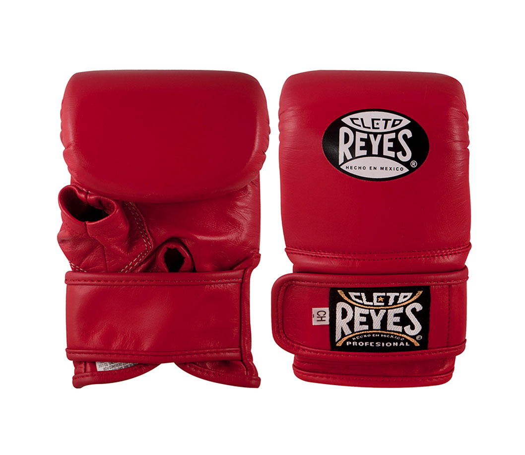 Red Cleto Reyes Boxing Bag Gloves