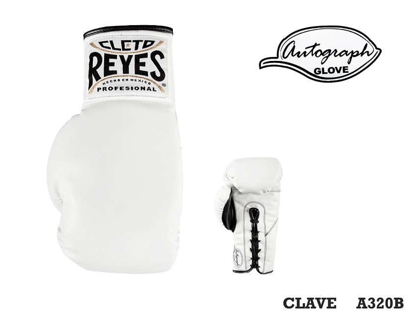 White Cleto Reyes Autograph Glove
