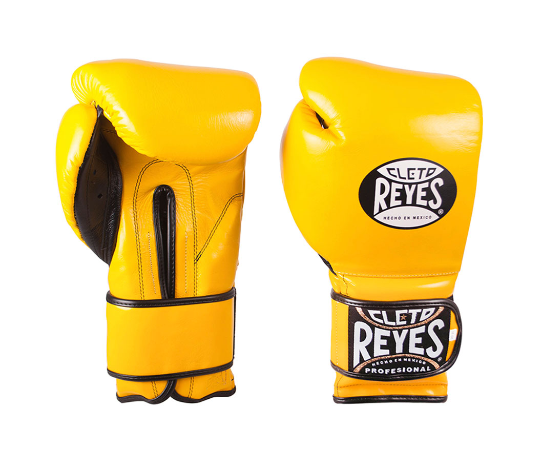 Yellow Cleto Reyes Sparring Gloves , Velcro